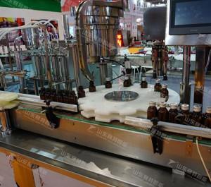 白酒、保健酒、果酒、口服液、糖浆等各种液体灌装生产线